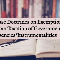 Exemption from Taxation of Government Agencies and Instrumentalities